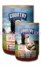 Makanan Kaleng Anjing Country Chicken & Rice Can 1.2kg