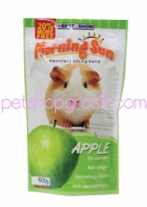 PASIR HAMSTER MORNING SUN APPLE 1.2 Kg