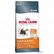 MAKANAN kucing ROYAL CANIN HAIR AND SKIN 33 400 GR