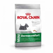 MAKANAN ANJING SENSITIF Royal Canin Mini Dermacomfort 2 kg