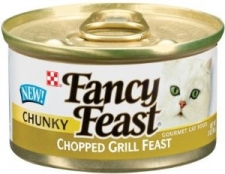 PURINA FANCY FEAST CHUNKY CHOPPED GRILL FEAST 24 X 85 GR