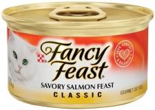 PURINA FANCY FEAST CLASSIC SAVORY SALMON FEAST 24 X 85 GR