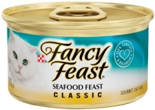 PURINA FANCY FEAST CLASSIC SEAFOOD FEAST 24 X 85 GR
