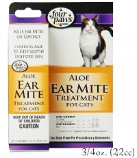 FOUR PAWS EAR MITE REMEDY FOR CAT