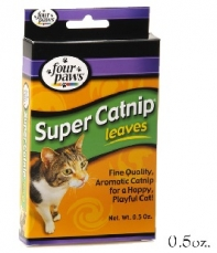 FOUR PAWS SUPER CATNIP LEAVES &BLOSSOMS;