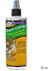 SUPER PAWS HONEYSUCKLE ADN CATNIP MIST
