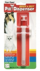 FOUR PAWS QUICK & EASY PILL DISPENDSER FOR PUPIES/ SMALL ANIMALS