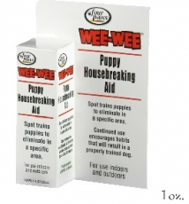 WEE-WEE PUPPY HOUSEBREAKING AID DROPPER
