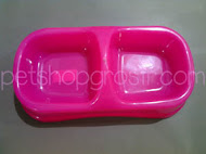 BO PLASTIC DOG DOBLE BOWL