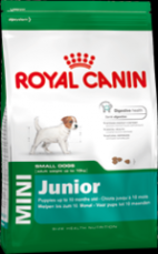 MAKANAN ANJING ROYAL CANIN MINI JUNIOR 4  KG