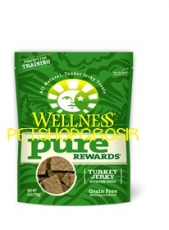 SNACK ANJING GRAIN FREE WELLNESS PURE REWARDS TURKEY SNACK  6 OZ