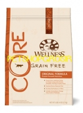 MAKANAN KUCING GRAIN FREE WELLNESS CORE ORIGINAL FORMULA 12 LB