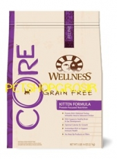 MAKANAN KUCING GRAIN FREE WELLNESS CORE KITTEN FORMULA 5 LB FOR CAT