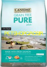 MAKANAN ANJING GRAIN FREE  CANIDAE GRAIN FREE PURE SEA (FRESH SALMON)