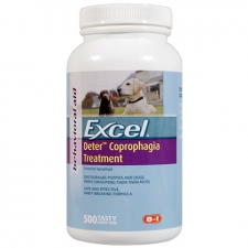 EXCEL DETER COPROPHAGIA TREATMENT BEHAVIORAL 60TAB