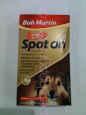 BOB MARTIN DOUBLE ACTION SPOT ON FOR LARGE DOGS