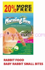 MORNING SUN BABY RABBIT FOOD