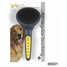 SISIR JW GRIP SOFT SLICKER BRUSH 65001