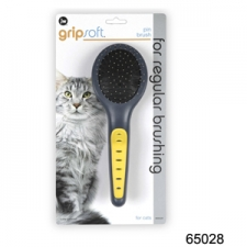 SISIR JW GRIP SOFT CAT PIN BRUSH 65028