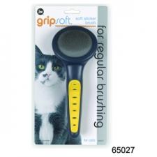 SISIR JW GRIP SOFT CAT SLICKER BRUSH 65027