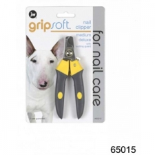 JW GRIP SOFT DELUXE NAIL CLIPPER MEDIUM