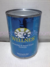WELLNESS WHITEFISH & SWEET POTATO FORMULA 354GRAM