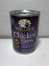 WELLNESS CHICKEN STEW WITH PEAS & CARROTS (GRAIN FREE) 354GRAM