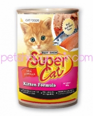 SUPER CAT  KITTEN FORMULA 400GR