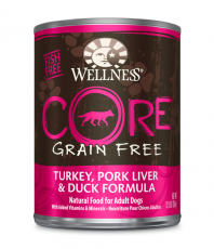 Wellness Core Wet Turkey, Pork Liver & Duck Formula 354gr