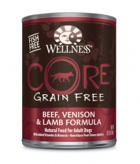 Wellness Core Wet Beef, Venison & Lamb Formula 354gr