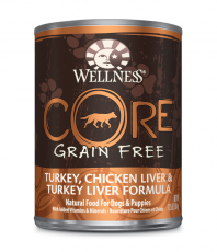 Wellness Core Wet Turkey, Chicken Liver & Turkey Liver Formula 354gr
