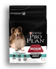 MAKANAN ANJING Purina Pro Plan Medium Dog Adult Sensitive Digest (Lamb) 2,5kg