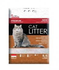 Pasir Kucing Samodra Premium Cat Litter Clumping 5,5 Liter