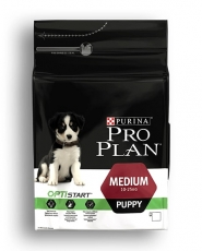 MAKANAN ANJING Pro Plan Puppy Medium Chicken and Rice 12 kg