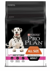 MAKANAN ANJING Purina Pro Plan Dog Adult Sensitive Skin & Stomach 2.5kg