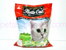 Pasir Kucing Hello Cat Sand Strawberry 10 Liter
