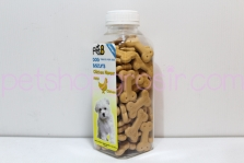 Snack Anjing Pet8 Dog Biscuits Chicken Flavour 200gr (tulang)