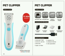 Pencukur Bulu Pet Clipper TP-8000