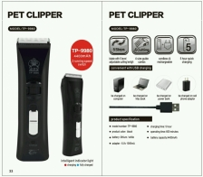 Pencukur Bulu Pet Clipper TP-9980