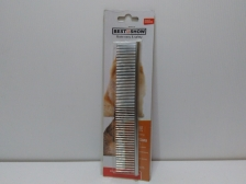 Sisir Best In Show Steel Comb 18.9cm x 3.2cm (Small)