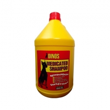 Shampoo Anjing Gatal Dinos Medicated Shampoo 3800mL