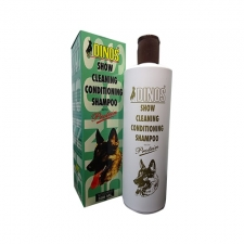 Shampoo Anjing Dinos Show Cleaning Conditioning Shampoo 500mL