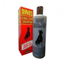 Shampoo Anjing Dinos Coal Tar Shampoo 500mL