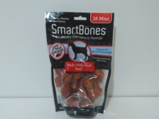 Snack Anjing Smart Bones Beef 16 Mini