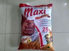 Pasir Kucing Maxi Cat Sand Lemon 25 Liter