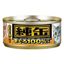 Makanan Kucing Aixia JMY13 Jun-can Mini Tuna with Chicken Fillet 65gr