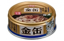 Makanan Kucing Aixia GCM35 Kin-can Mini Tuna with Dried Skipjack 70gr