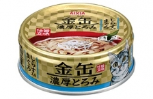 Makanan Kucing Aixia GCT2 Kin-can Rich Tuna with Whitebait 70gr