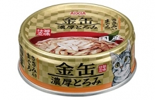 Makanan Kucing Aixia GCT3 Kin-can Rich Tuna with Chicken Fillet 70gr
