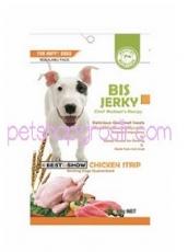 Snack Anjing BIS Jerky Chicken Strip 70gr